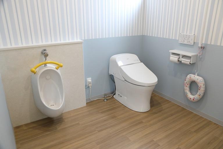 子供のトイレ